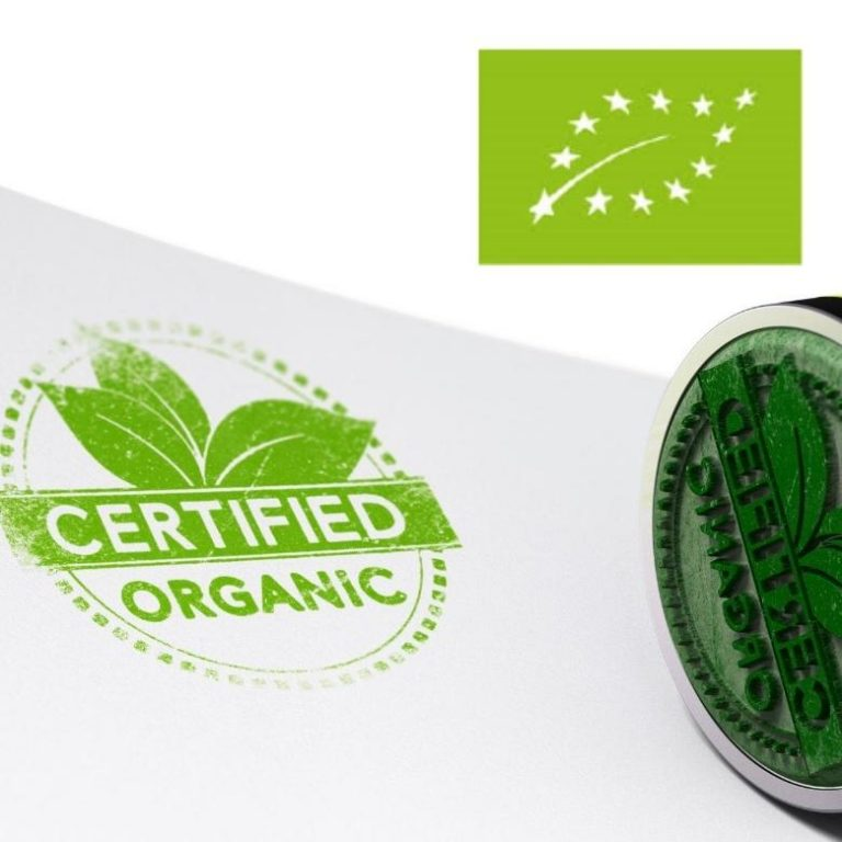 Organic Certified stamp